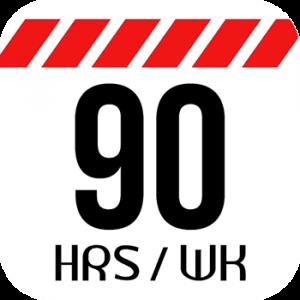 Logo de 90 HRS/Semana